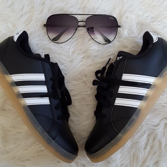 Zapatillas adidas neo negro zapatilla tamaño 65 poshmark